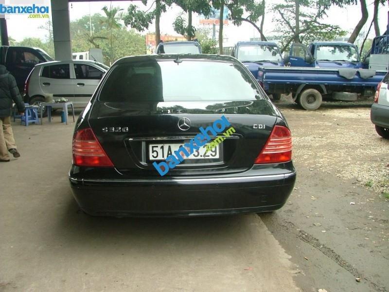 Xe Mercedes-Benz S class 320 CDI 2004-4