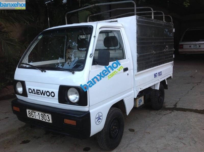 Bán xe cũ Daewoo Labo đời 1993, màu trắng-0