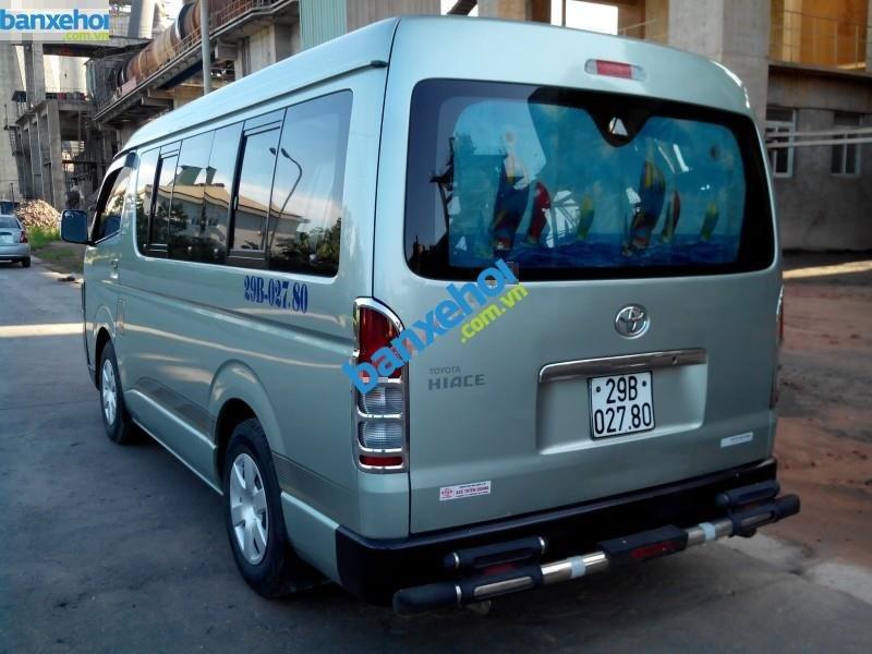 Xe Toyota Hiace  2007-4