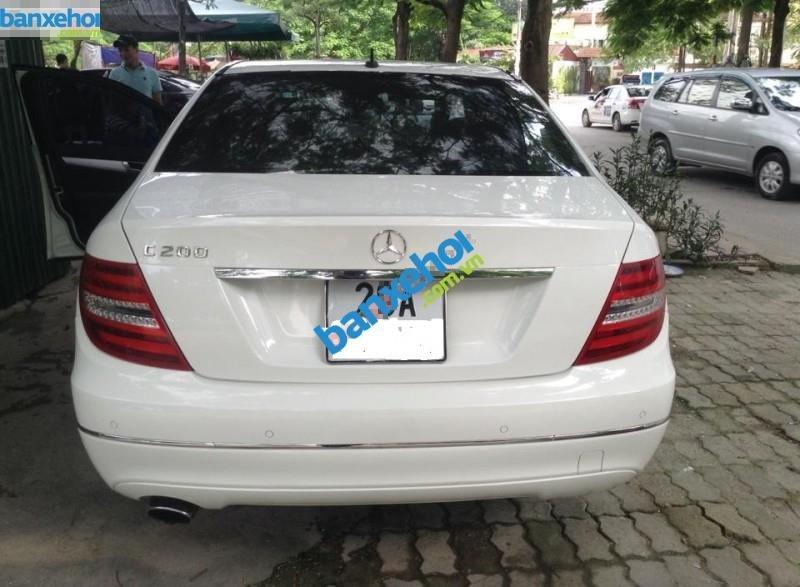 Xe Mercedes-Benz C class C200 2012-1