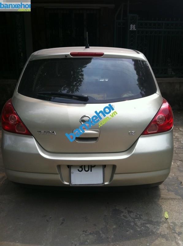 Xe Nissan Tiida 1.8AT 2007-2