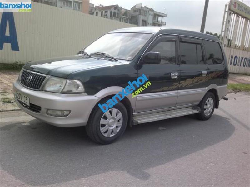 Xe Toyota Zace GL 2004-1