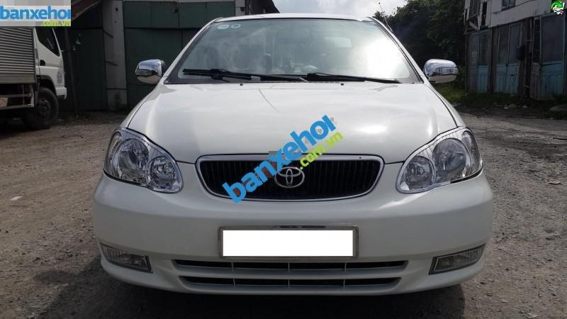 Xe Toyota Corolla altis 1.3 2003-0