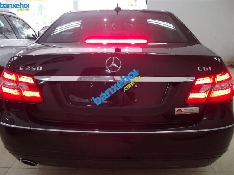 Xe Mercedes-Benz E class E250 2011-8