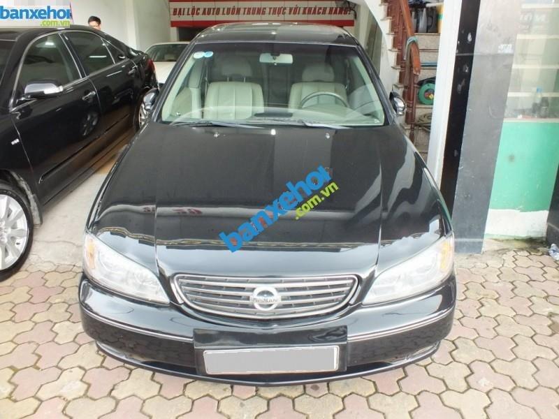 Cần bán xe Nissan Cefiro năm 2004, màu đen, 395 triệu-0