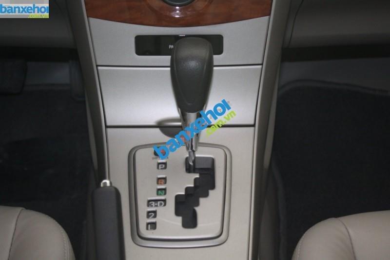 Xe Toyota Corolla XLi 1.6AT 2010-9