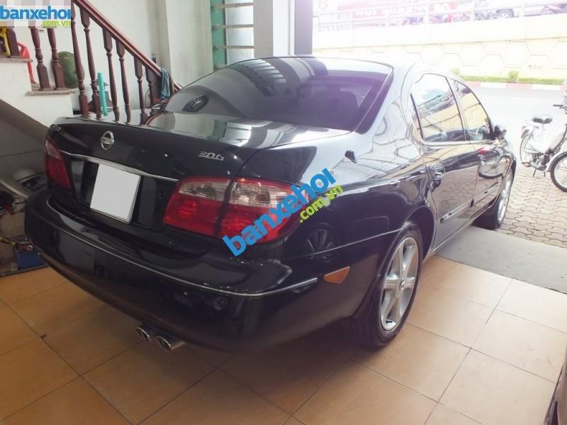 Cần bán xe Nissan Cefiro năm 2004, màu đen, 395 triệu-3