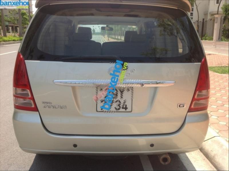 Xe Toyota Innova G 2007-9