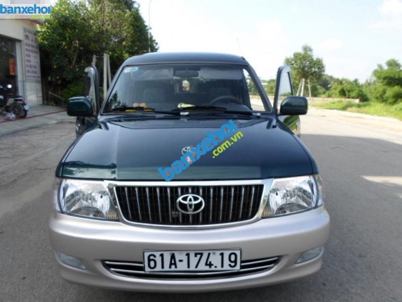 Xe Toyota Zace GL 2003-0