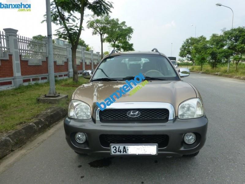 Xe Hyundai Santa Fe  2003-2