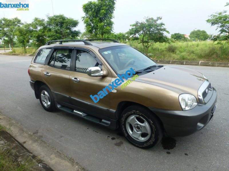 Xe Hyundai Santa Fe  2003-0