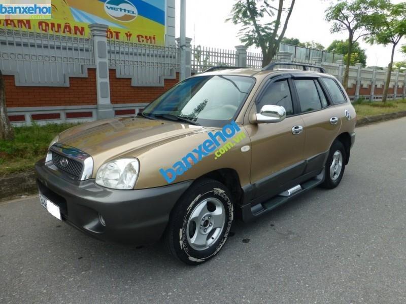 Xe Hyundai Santa Fe  2003-1