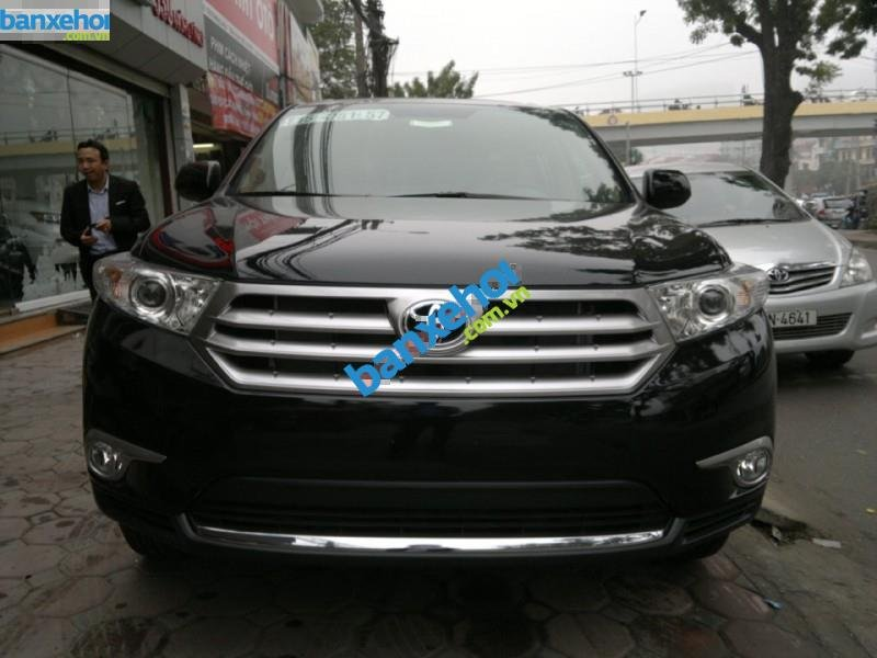 Xe Toyota Highlander SE 2011-1