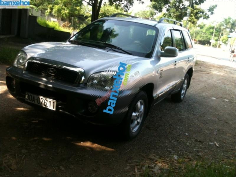 Xe Hyundai Santa Fe Gold 2004-4
