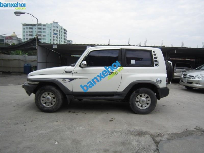 Xe Ssangyong Korando TX7 năm sản xuất 2005, màu trắng, nhập khẩu Hàn Quốc-0