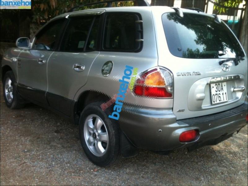 Xe Hyundai Santa Fe Gold 2004-1