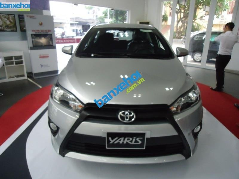 Xe Toyota Yaris E 2014-0