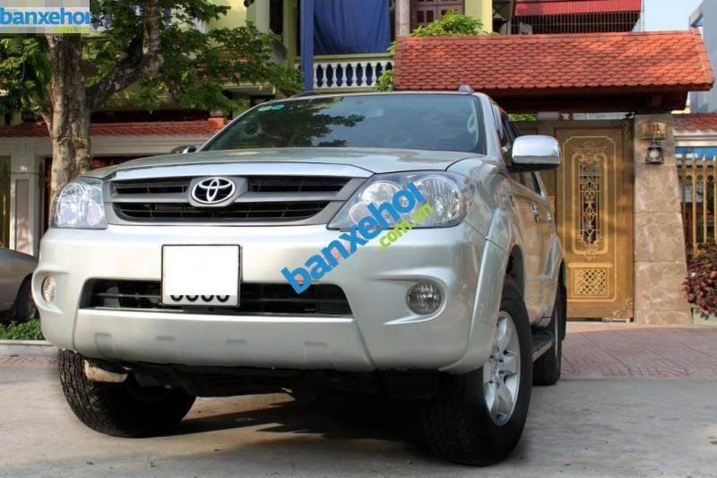 Xe Toyota Fortuner 2.5G 2008-1