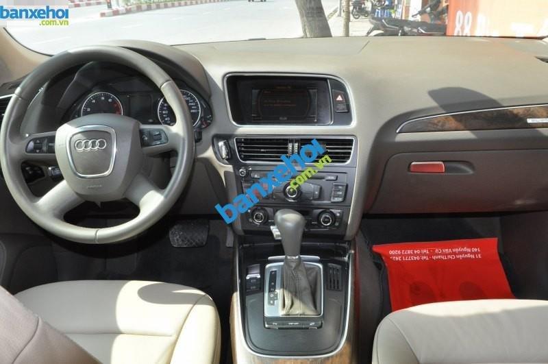 Bán Audi Q5 V 2.0 đời 2009, màu trắng, nhập khẩu chính hãng-5