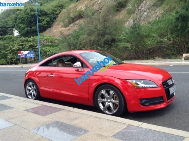 Cần bán xe Audi TT đời 2007, màu đỏ, xe nhập-1