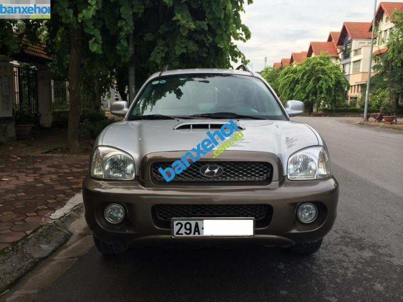 Xe Hyundai Santa Fe Gold 2003-0