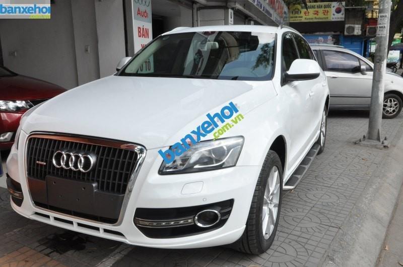 Bán Audi Q5 V 2.0 đời 2009, màu trắng, nhập khẩu chính hãng-0