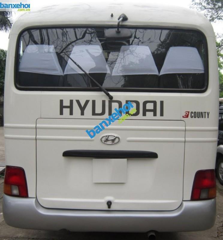 Bán Hyundai County 2007, màu vàng, giá chỉ 360 triệu-2