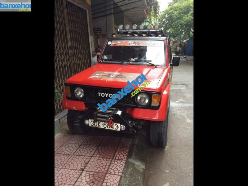 Bán ô tô Toyota Land Cruiser Trước đời 1990, hai màu, xe nhập, giá 125tr-1
