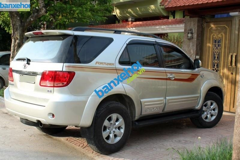 Xe Toyota Fortuner 2.5G 2008-3