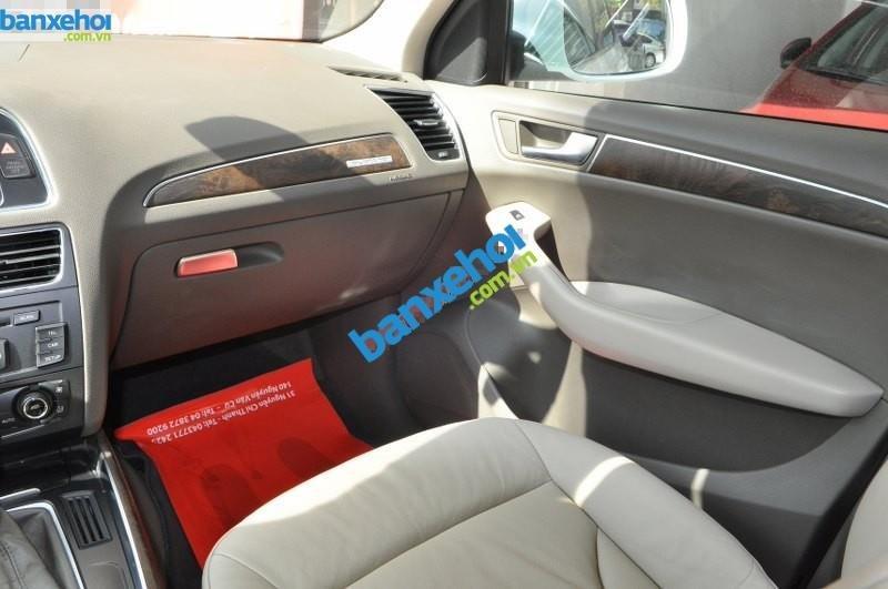 Bán Audi Q5 V 2.0 đời 2009, màu trắng, nhập khẩu chính hãng-8