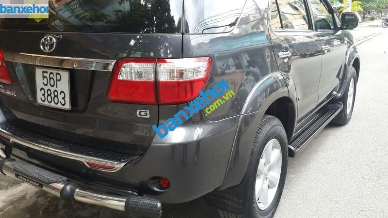 Xe Toyota Fortuner 2.5G 2010-5