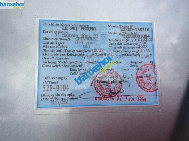 Xe Chevrolet Vivant CDX 2008-7