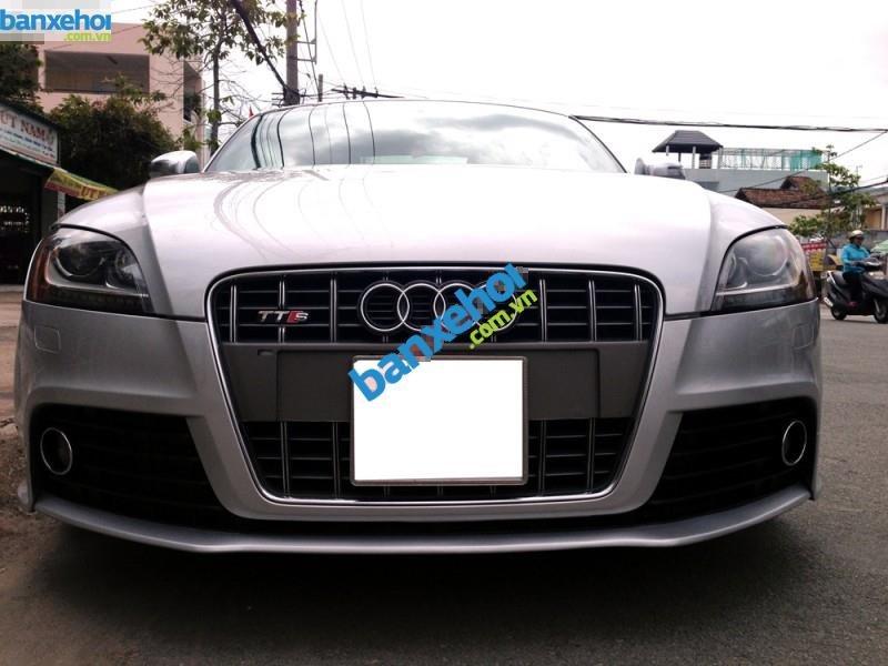 Bán xe Audi TT S đời 2009, màu bạc, xe nhập còn mới-0