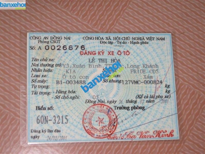 Xe Kia Pride CD5 2000-8