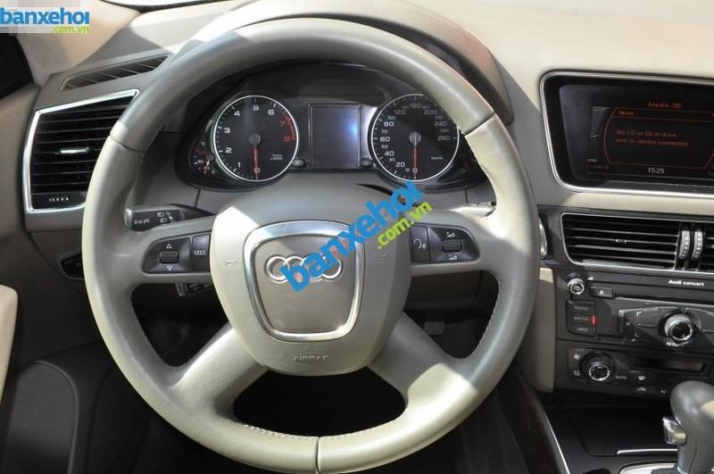 Bán Audi Q5 V 2.0 đời 2009, màu trắng, nhập khẩu chính hãng-6