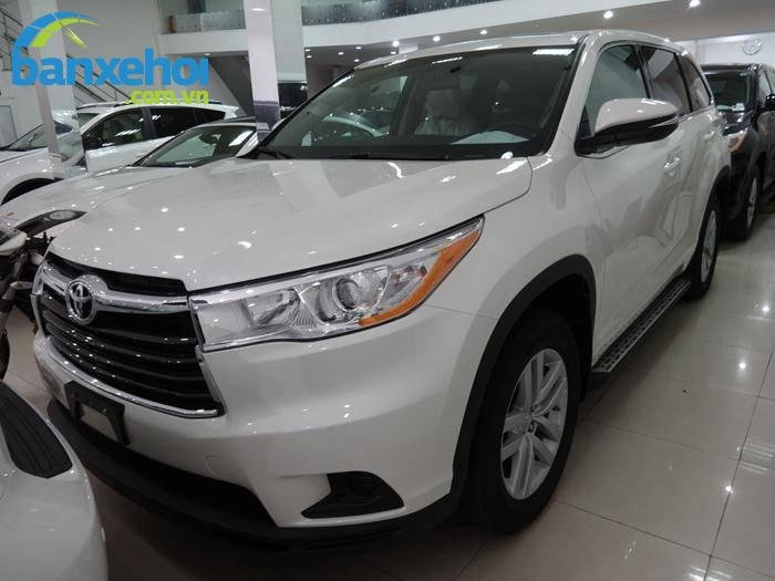 Xe Toyota Highlander  2014-0