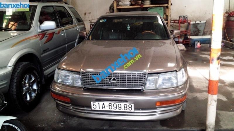 Bán lại xe Lexus LS 400 sản xuất năm 1992, màu nâu, xe nhập-0