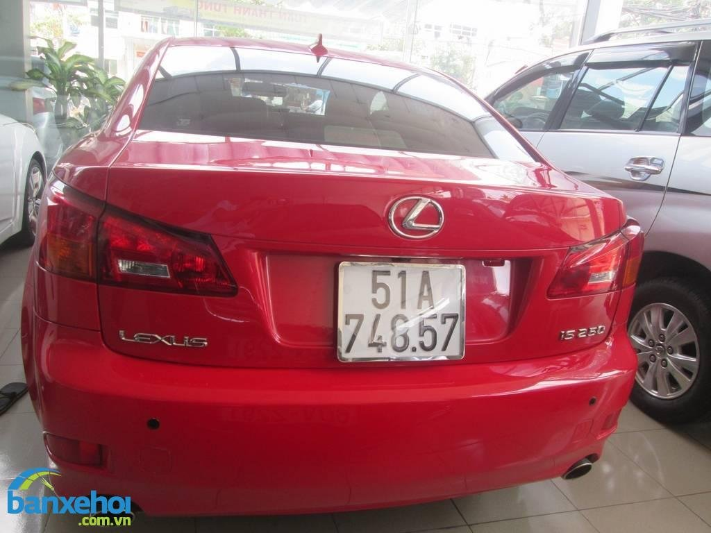 Xe Lexus IS 250 2007-4