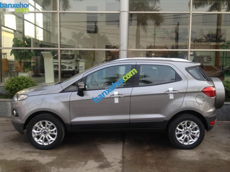 Bán ô tô Ford EcoSport Titanium sản xuất 2017, màu xám - Hỗ trợ đăng ký, đăng kiểm, trả góp, giá rẻ nhất tại Vĩnh Phúc-0