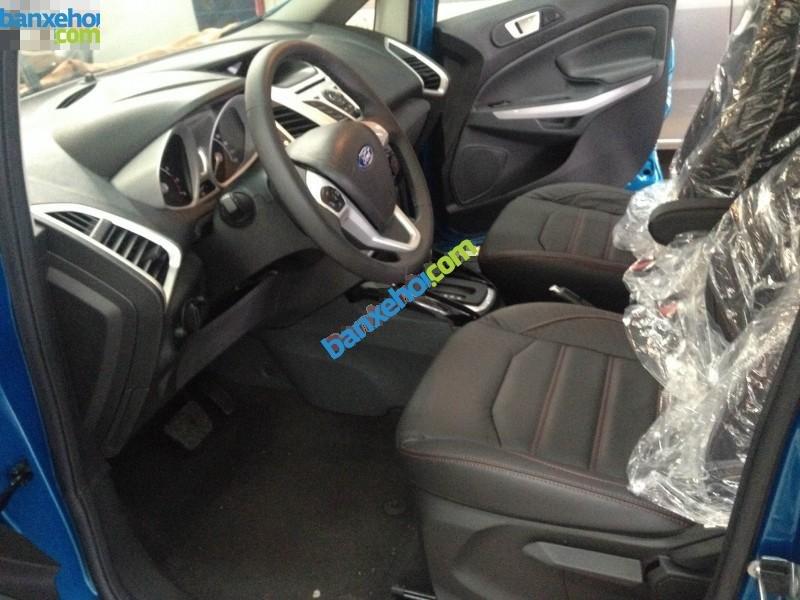 Bán ô tô Ford EcoSport Titanium sản xuất 2017, màu xám - Hỗ trợ đăng ký, đăng kiểm, trả góp, giá rẻ nhất tại Vĩnh Phúc-1