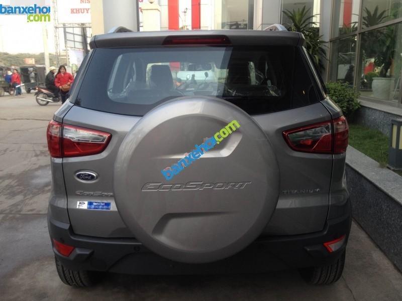 Bán ô tô Ford EcoSport Titanium sản xuất 2017, màu xám - Hỗ trợ đăng ký, đăng kiểm, trả góp, giá rẻ nhất tại Vĩnh Phúc-3