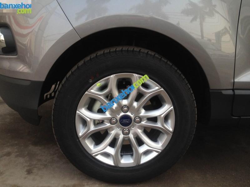 Bán ô tô Ford EcoSport Titanium sản xuất 2017, màu xám - Hỗ trợ đăng ký, đăng kiểm, trả góp, giá rẻ nhất tại Vĩnh Phúc-4
