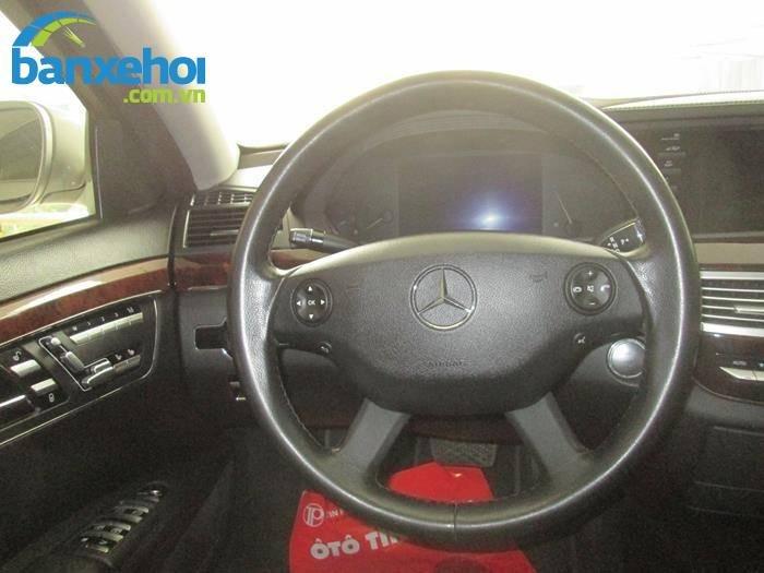 Xe Mercedes-Benz S class 550 2007-7