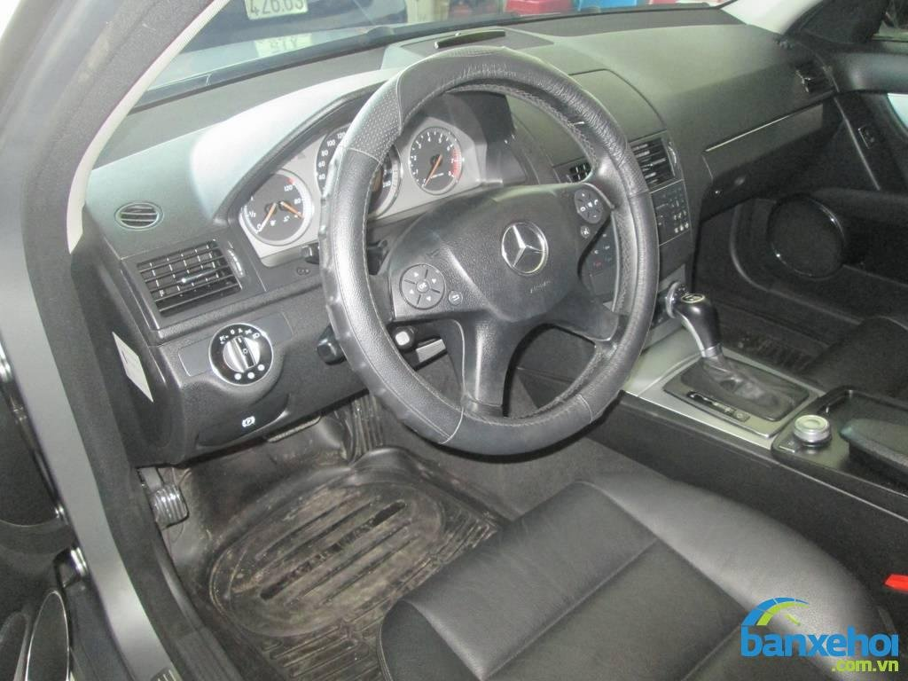 Xe Mercedes-Benz C class 230 2008-6