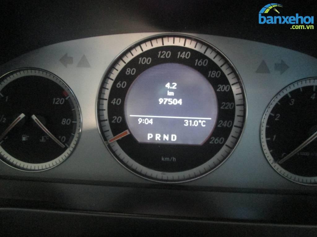 Xe Mercedes-Benz C class 230 2008-8