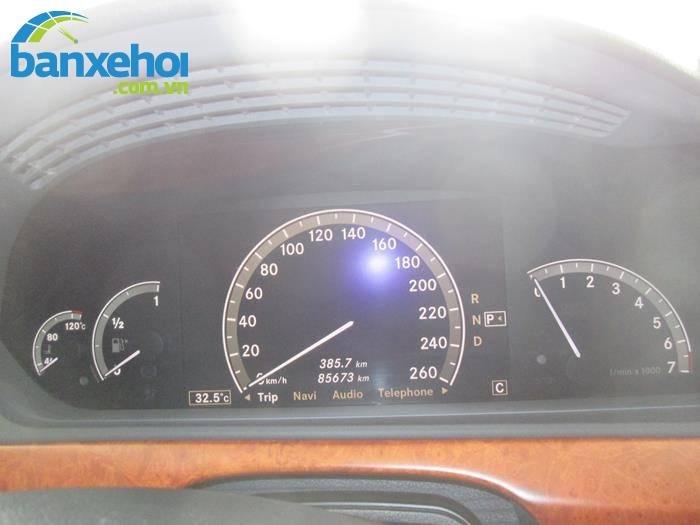 Xe Mercedes-Benz S class 350 2006-9
