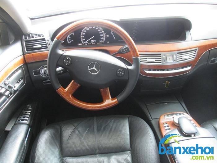 Xe Mercedes-Benz S class 350 2006-6