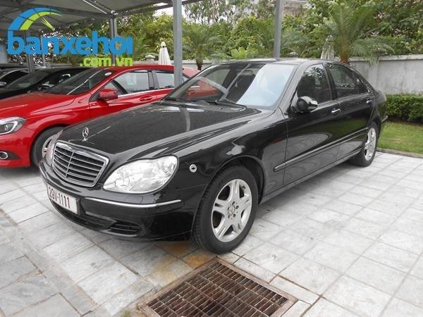 Xe Mercedes-Benz S class 350 2007-1