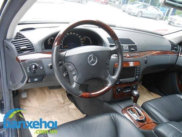 Xe Mercedes-Benz S class 350 2007-8