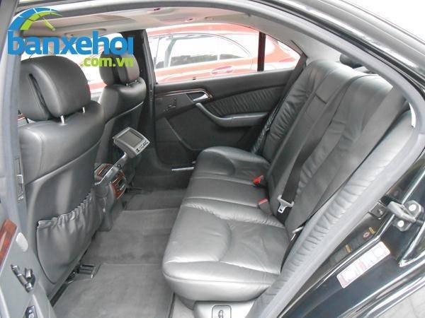 Xe Mercedes-Benz S class 350 2007-11